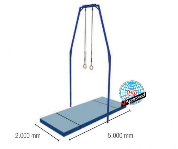 Ringe-Mattensatz 10 m² FIG-Zertifiziert