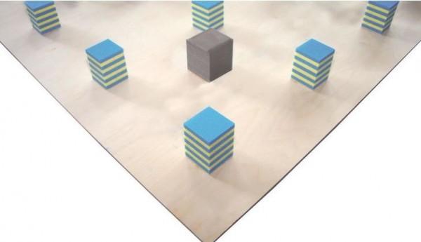 Unterkonstruktionen für Bodenturnflächen 14 x 14 m, ohne Stahlfedern