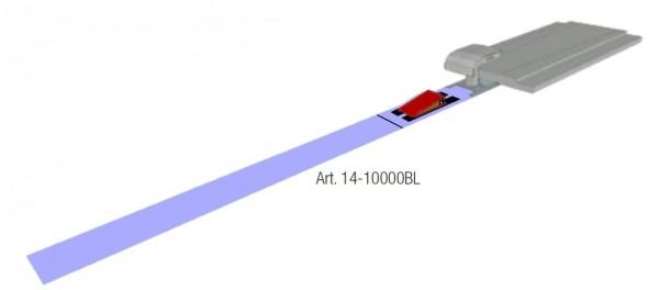 Anlaufbahn für Sprunggeräte inkl. Aufstandsbrett und Absprungbohle